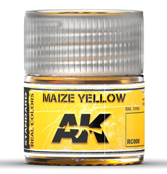 Real Colors: Maize Yellow Acrylic Lacquer Paint