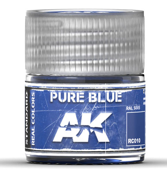 Real Colors: Pure Blue Acrylic Lacquer Paint