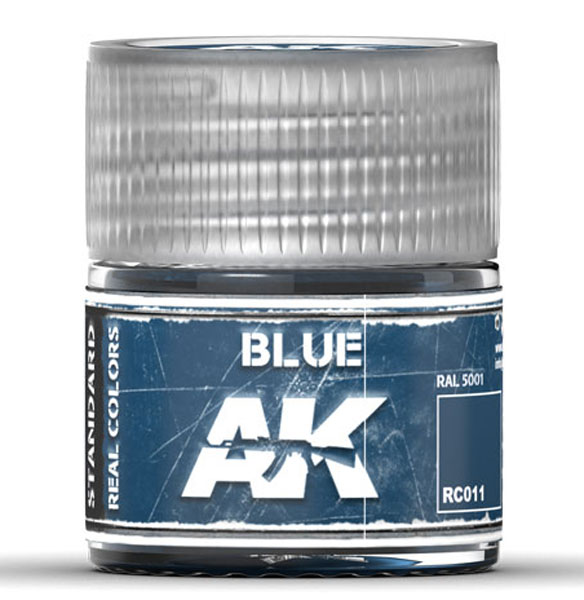 Real Colors: Blue Acrylic Lacquer Paint