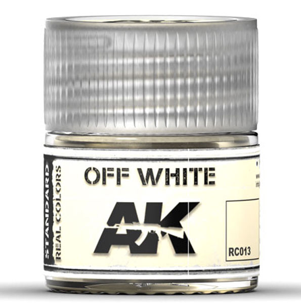 Real Colors: Off White Acrylic Lacquer Paint