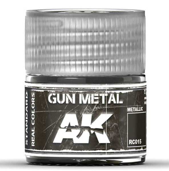 Real Colors: Gun Metal Acrylic Lacquer Paint