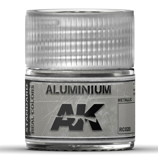 Real Colors: Aluminum Acrylic Lacquer Paint