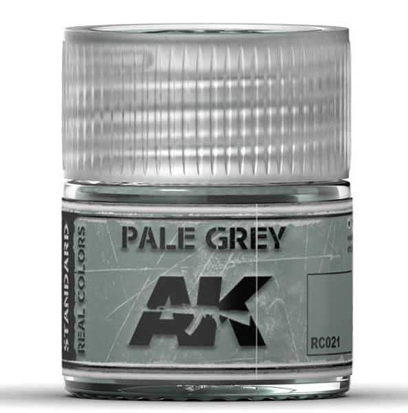 Real Colors: Pale Grey Acrylic Lacquer Paint