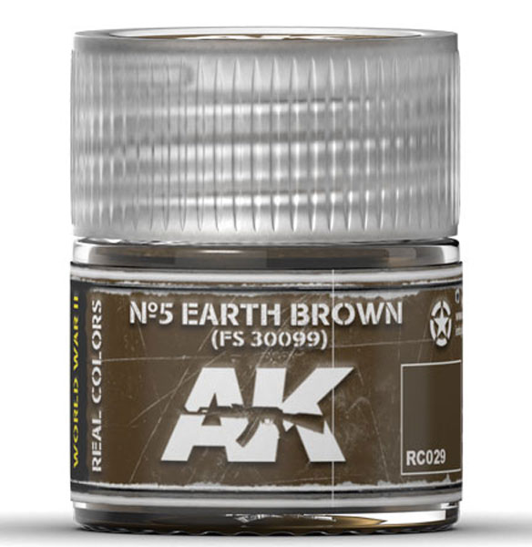 Real Colors: No.5 Earth Brown FS30099 Acrylic Lacquer Paint