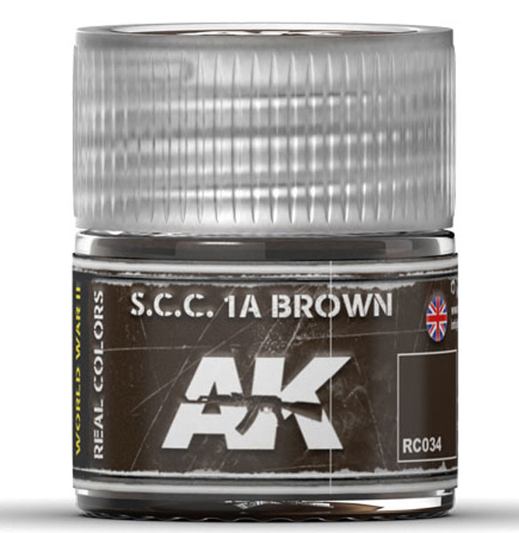 Real Colors: SCC 1A Brown Acrylic Lacquer Paint