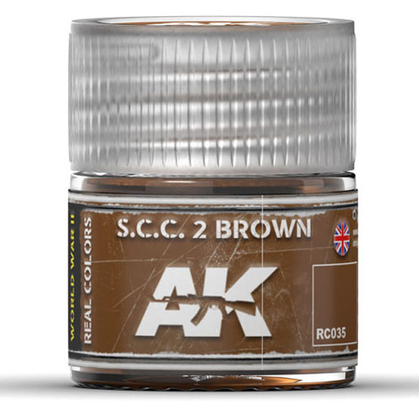 Real Colors: SCC 2 Brown Acrylic Lacquer Paint