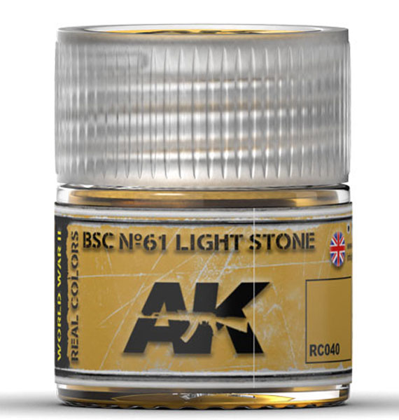 Real Colors: BSC No.61 Light Stone Acrylic Lacquer Paint