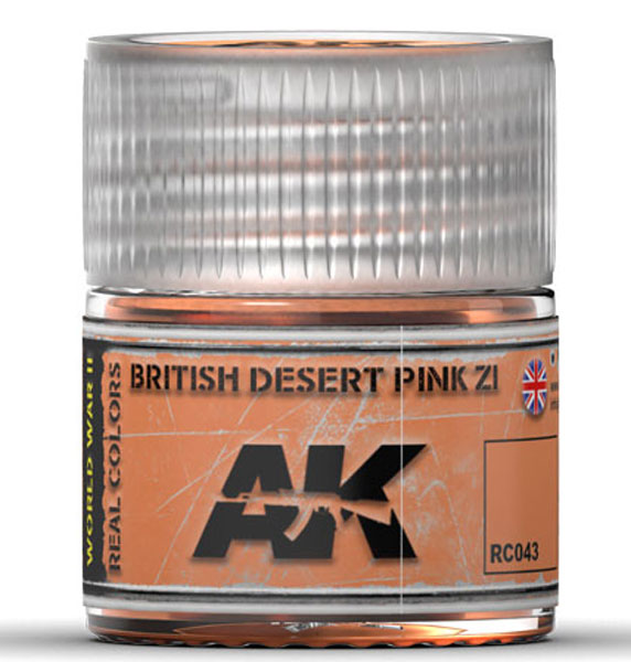 Real Colors: British Desert Pink Z1 Acrylic Lacquer Paint