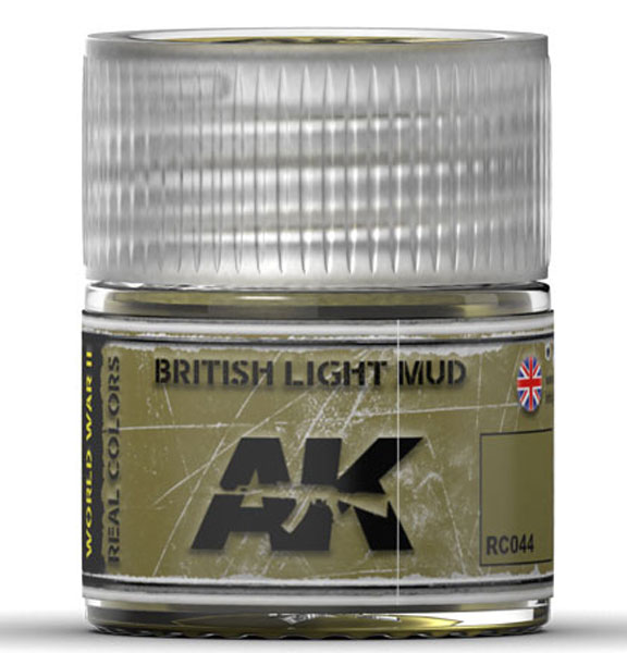 Real Colors: British Light Mud Acrylic Lacquer Paint