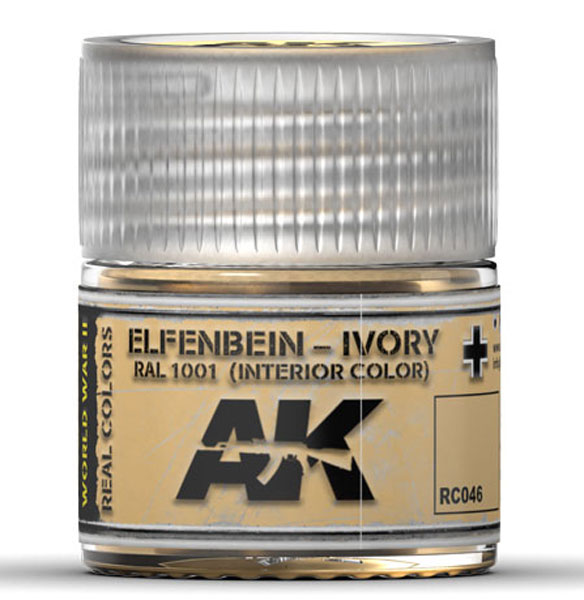 Real Colors: Ivory RAL1001 (Interior) Acrylic Lacquer Paint