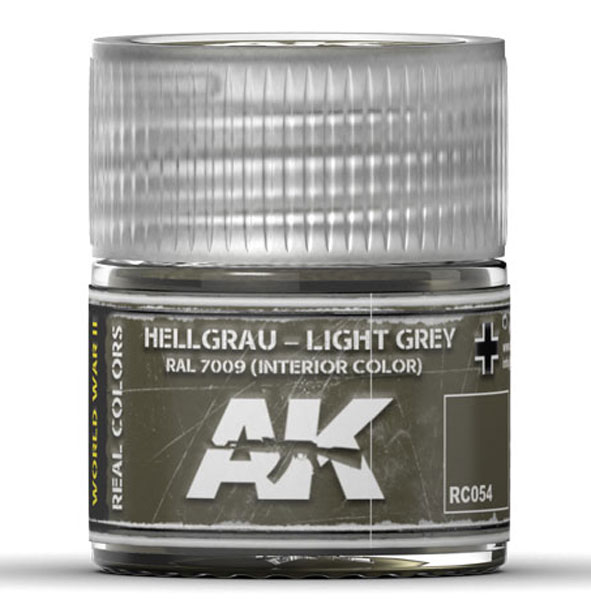 Real Colors: Light Grey RAL7009 (Interior) Acrylic Lacquer Paint