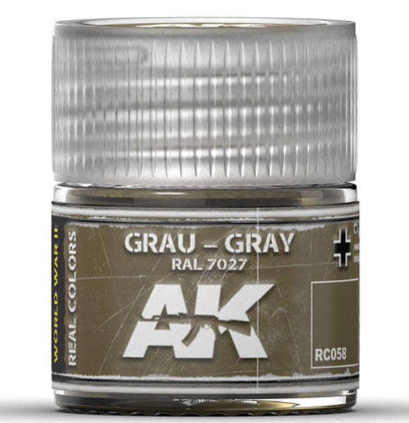 Real Colors: Grey RAL7027 Acrylic Lacquer Paint