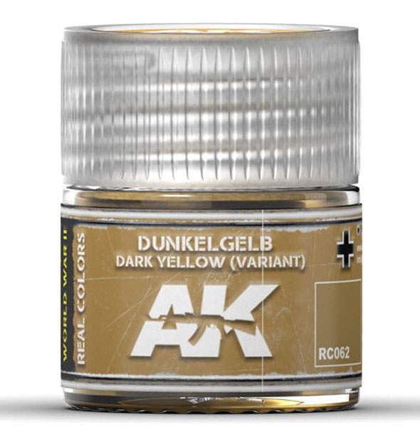 Real Colors: Dark Yellow (Variant) Acrylic Lacquer Paint