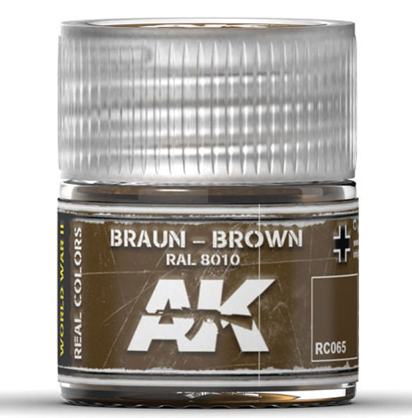 Real Colors: Brown RAL8010 Acrylic Lacquer Paint