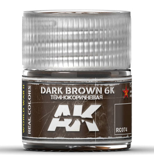 Real Colors: Dark Brown 6K Acrylic Lacquer Paint