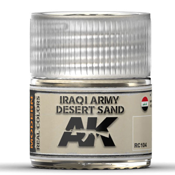 Real Colors: Iraqi Army Desert Sand Acrylic Lacquer Paint
