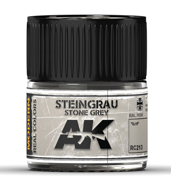 Real Colors: Steingrau-Stone Grey RAL 7030 Acrylic Lacquer Paint