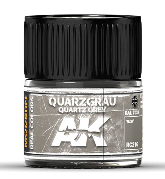Real Colors: Quarzgrau-Quartz Grey RAL 7039 Acrylic Lacquer Paint