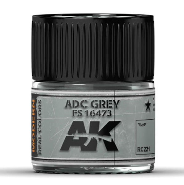 Real Colors: ADC Grey FS 16473 Acrylic Lacquer Paint