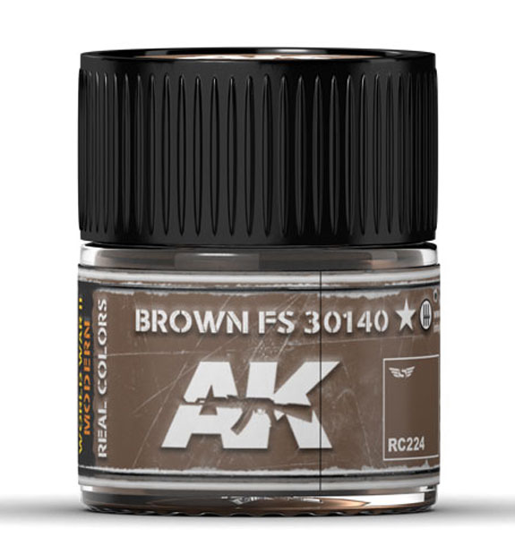 Real Colors: Brown FS 30140 Acrylic Lacquer Paint
