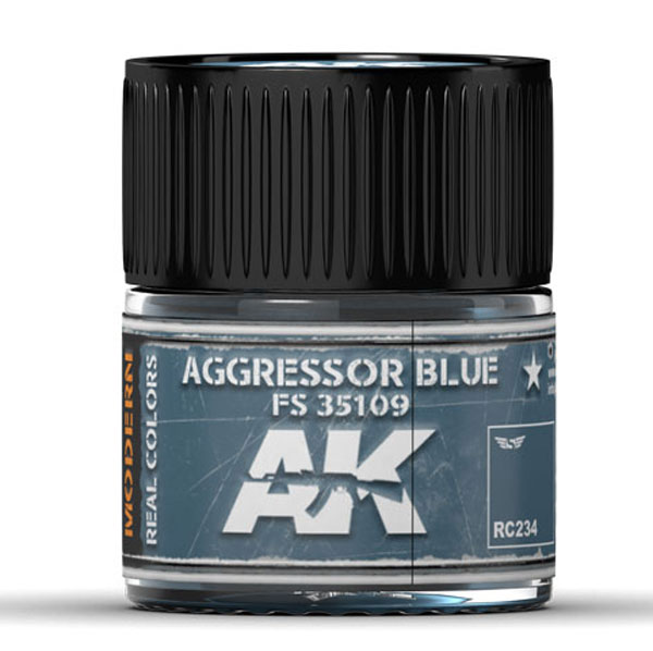 Real Colors: Aggressor Blue FS 35109 Acrylic Lacquer Paint