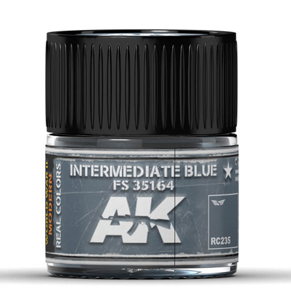 Real Colors: Intermediate Blue FS 35164 Acrylic Lacquer Paint