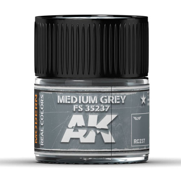 Real Colors: Medium Grey FS 35237 Acrylic Lacquer Paint