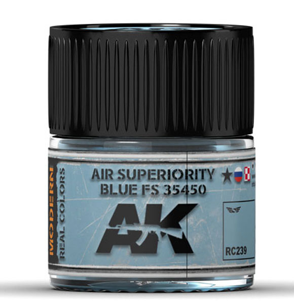 Real Colors: Air Superiority Blue FS 35450 Acrylic Lacquer Paint
