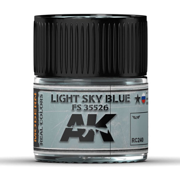 Real Colors: Light Sky Blue FS 35526 Acrylic Lacquer Paint