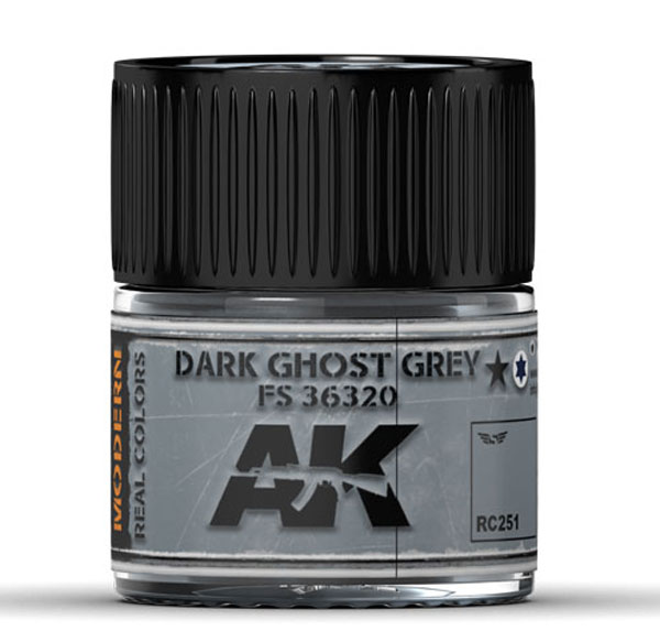 Real Colors: Dark Ghost Grey FS 36320 Acrylic Lacquer Paint