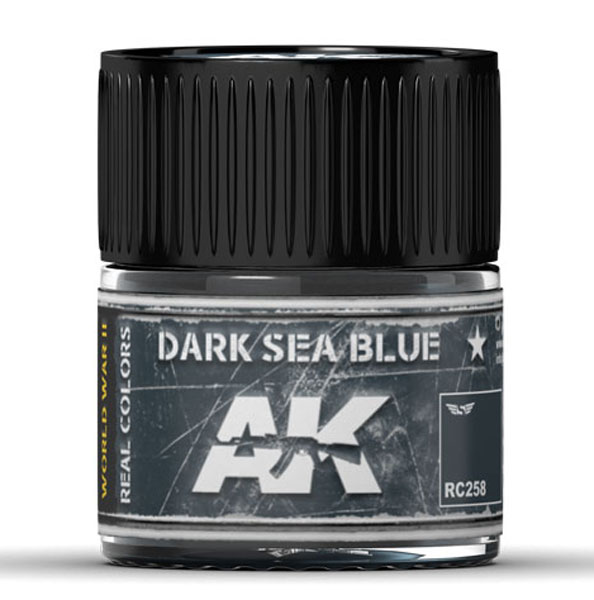 Real Colors: Dark Sea Blue Acrylic Lacquer Paint