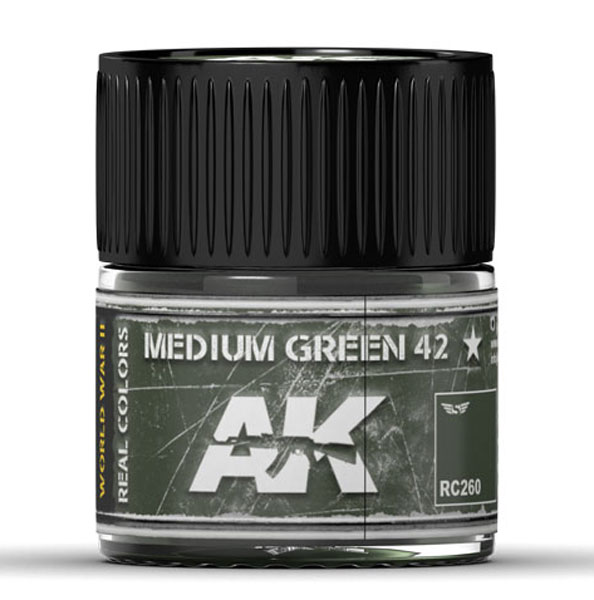 Real Colors: Medium Green 42 Acrylic Lacquer Paint