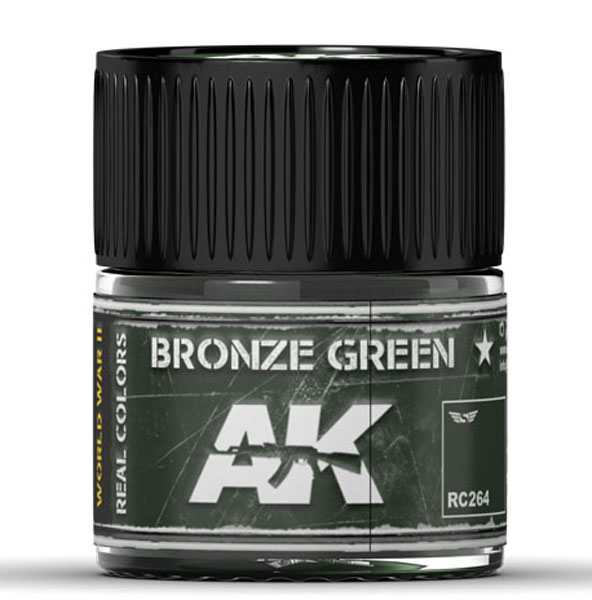 Real Colors Bronze Green Acrylic Lacquer Paint