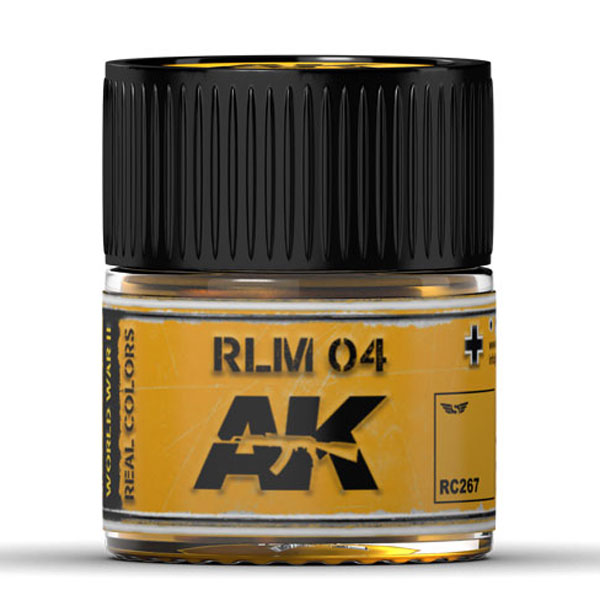 Real Colors: RLM 04 Acrylic Lacquer Paint