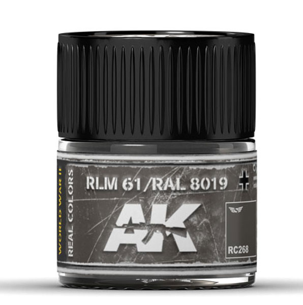 Real Colors: RLM 61 / RAL 8019 Acrylic Lacquer Paint