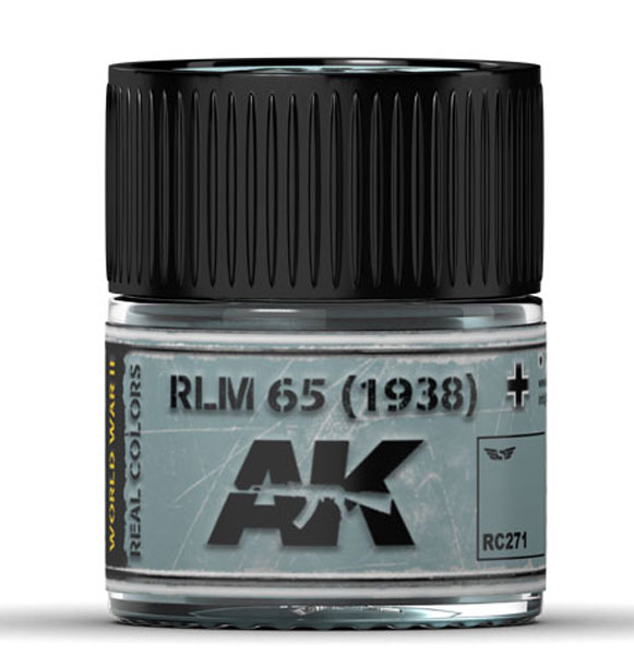Real Colors: RLM 65 (1938) Acrylic Lacquer Paint