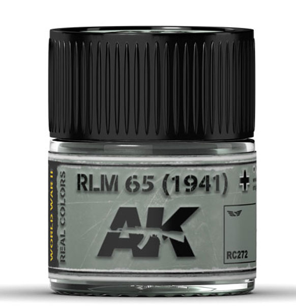 Real Colors: RLM 65 (1941) Acrylic Lacquer Paint