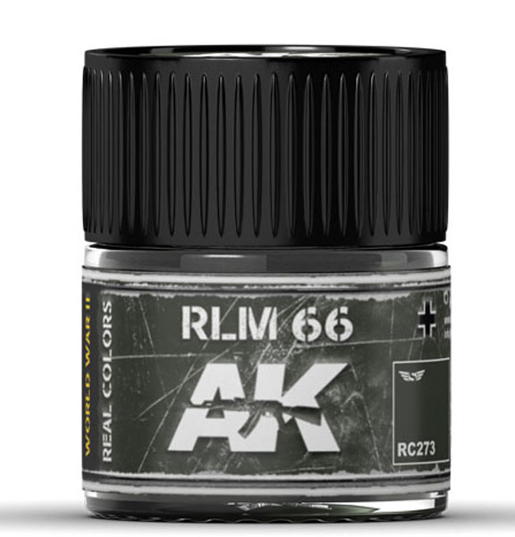 Real Colors: RLM 66 Acrylic Lacquer Paint
