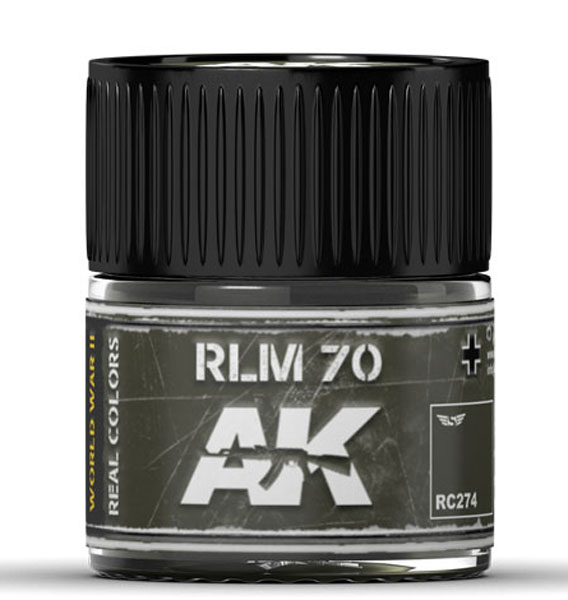 Real Colors: RLM 70 Acrylic Lacquer Paint