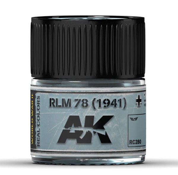 Real Colors: RLM 78 (1941) Acrylic Lacquer Paint