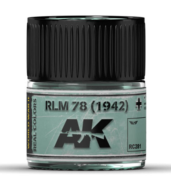 Real Colors: RLM 78 (1942) Acrylic Lacquer Paint