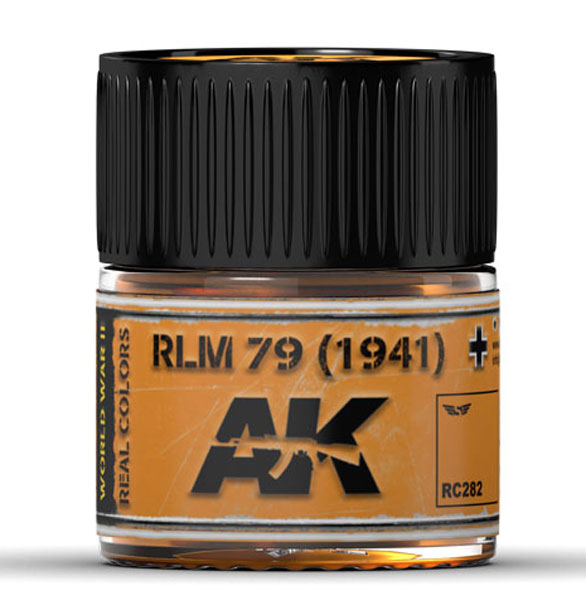 Real Colors: RLM 79 (1941) Acrylic Lacquer Paint