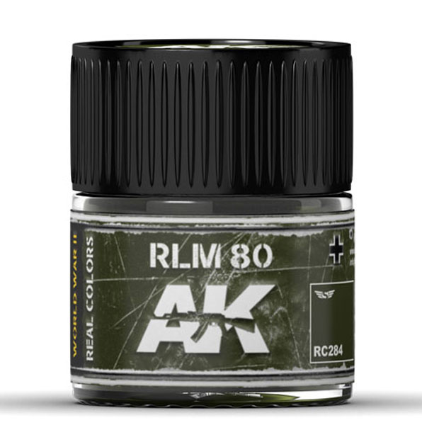 Real Colors: RLM 80 Acrylic Lacquer Paint