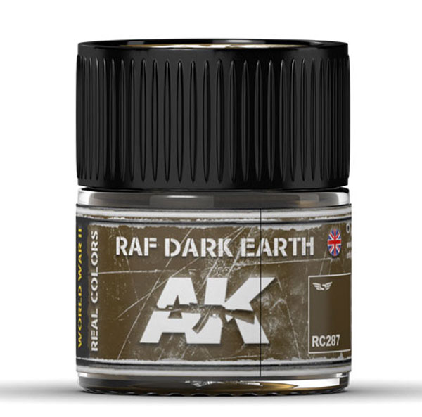 Real Colors: RAF Dark Earth Acrylic Lacquer Paint