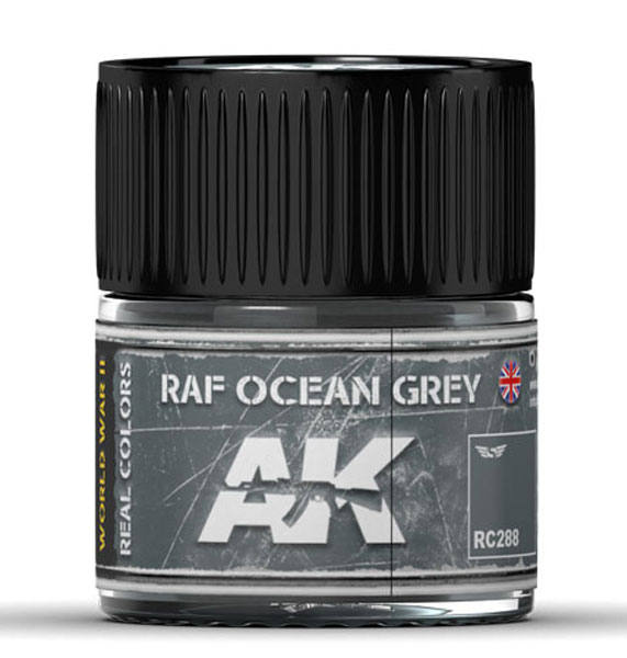 Real Colors: RAF Ocean Grey Acrylic Lacquer Paint