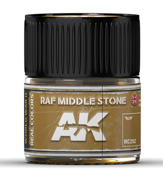 Real Colors: RAF Middle Stone Acrylic Lacquer Paint