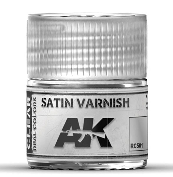 Real Colors: Satin Varnish Acrylic Lacquer Paint