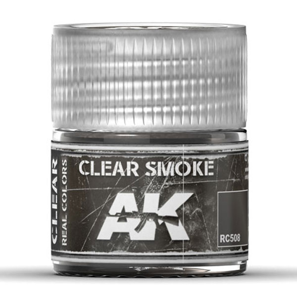 Real Colors: Clear Smoke Acrylic Lacquer Paint