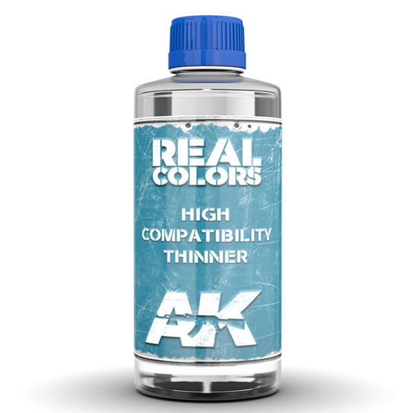 Real Colors: High Compatibility Thinner 200ml Bottle