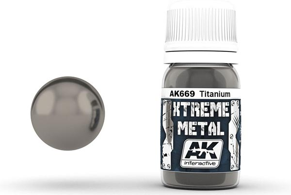 Xtreme Metal Titanium 30ml Bottle